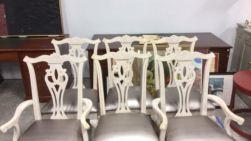 6 Decorative Dinning  Chairs - 3