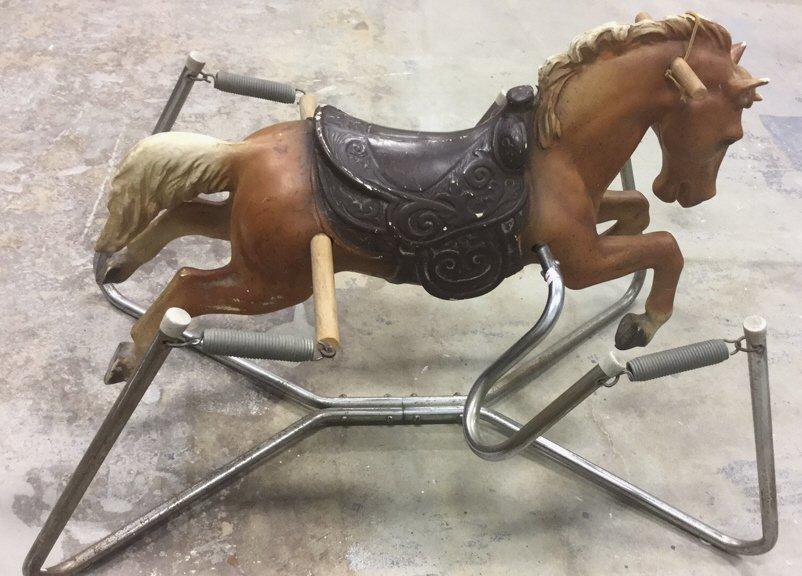 Vintage Style Rocking Horse