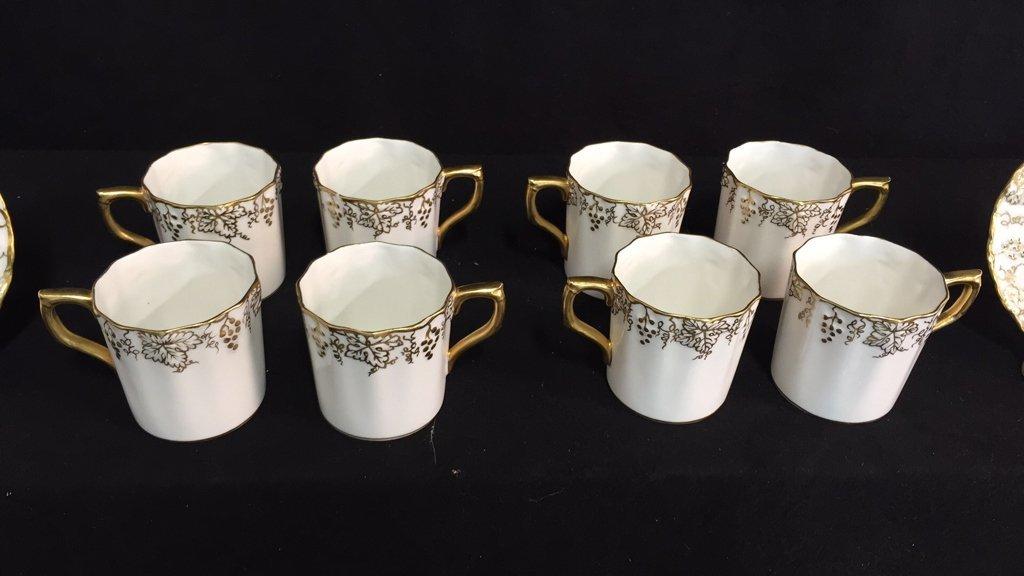 ROYAL CROWN DERBY Tea Set VINE - 4