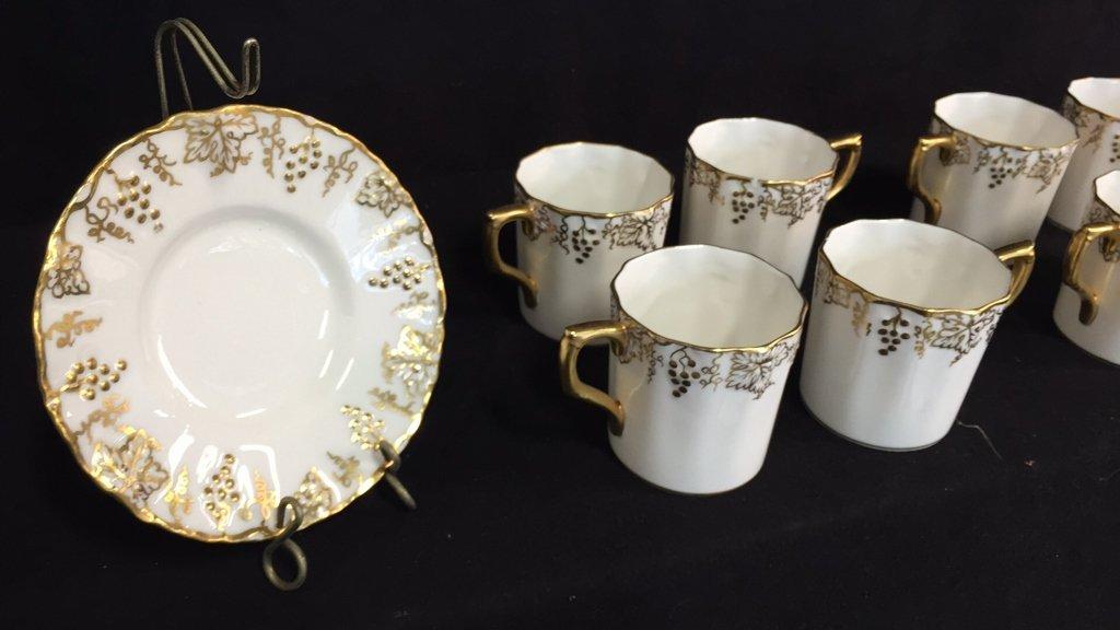 ROYAL CROWN DERBY Tea Set VINE - 5