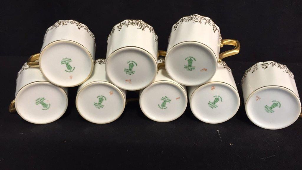 ROYAL CROWN DERBY Tea Set VINE - 9