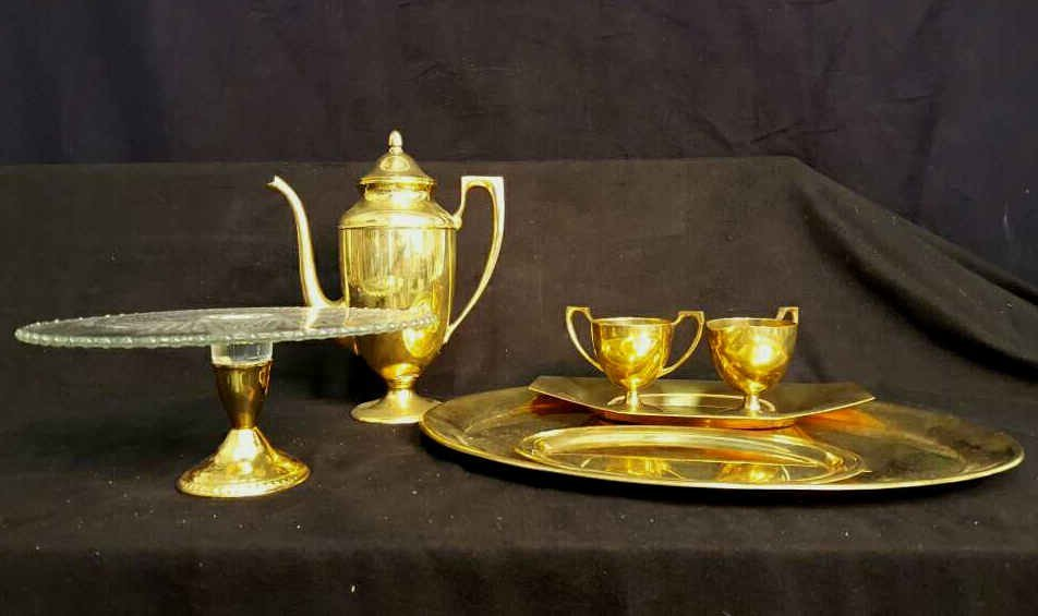 Tea Service and Trays