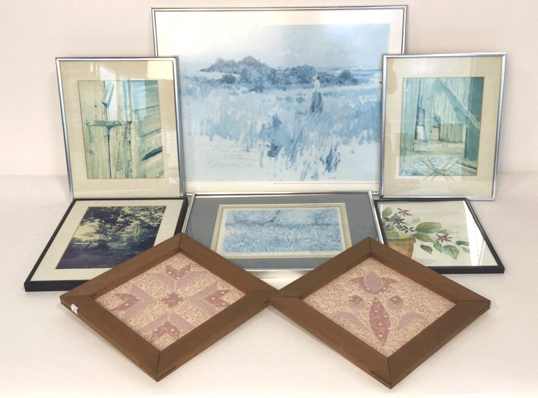 8 Piece Art Group Lot