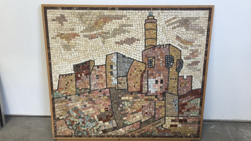 EILON Mosaic Signed Aimel ISREAL - 10