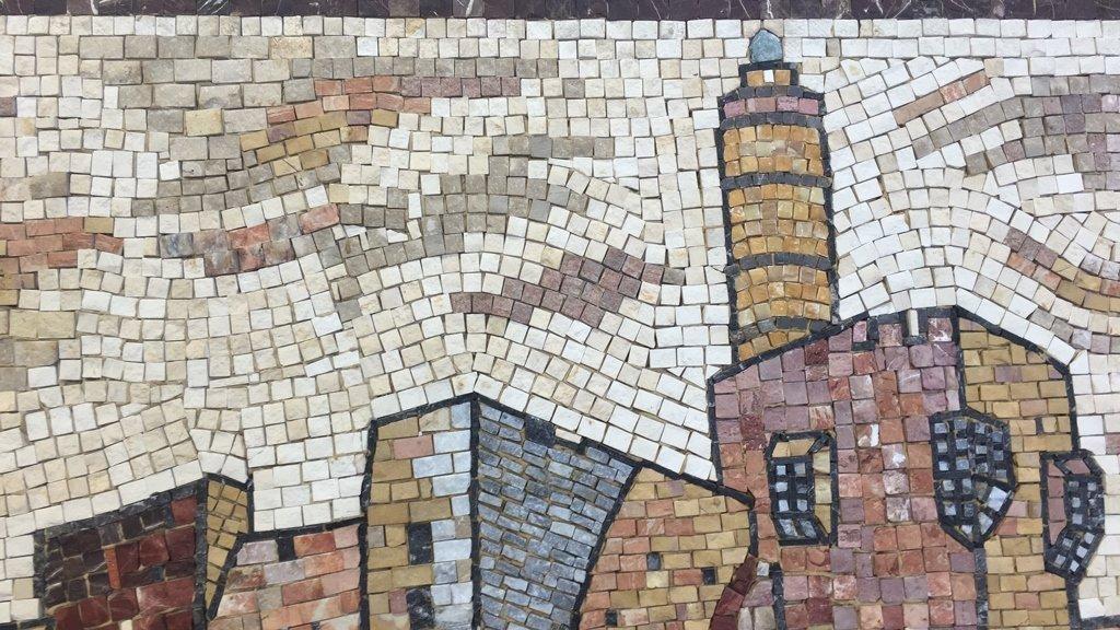 EILON Mosaic Signed Aimel ISREAL - 3