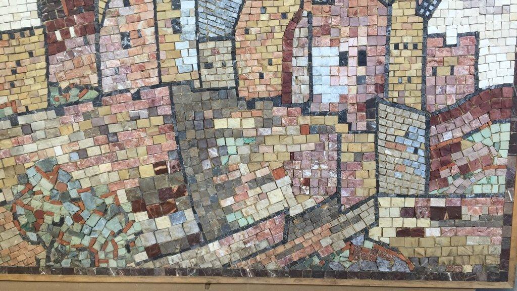 EILON Mosaic Signed Aimel ISREAL - 4
