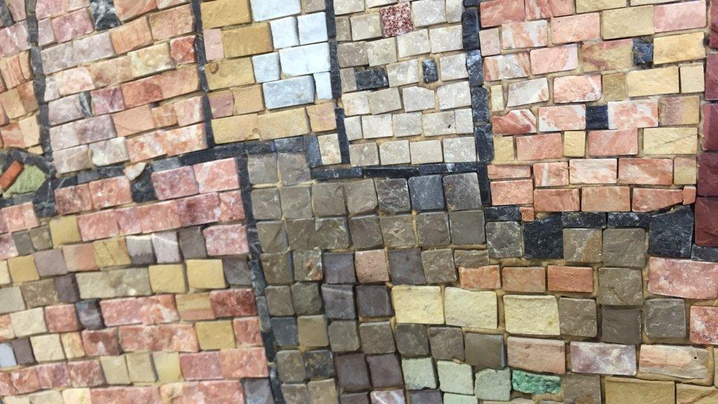 EILON Mosaic Signed Aimel ISREAL - 5