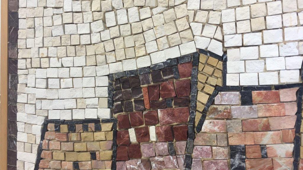 EILON Mosaic Signed Aimel ISREAL - 7