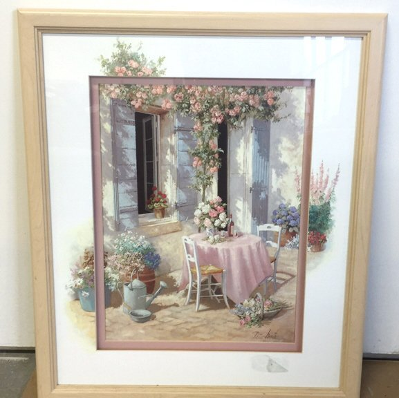Country Cafe Signed Print PETER MOTS