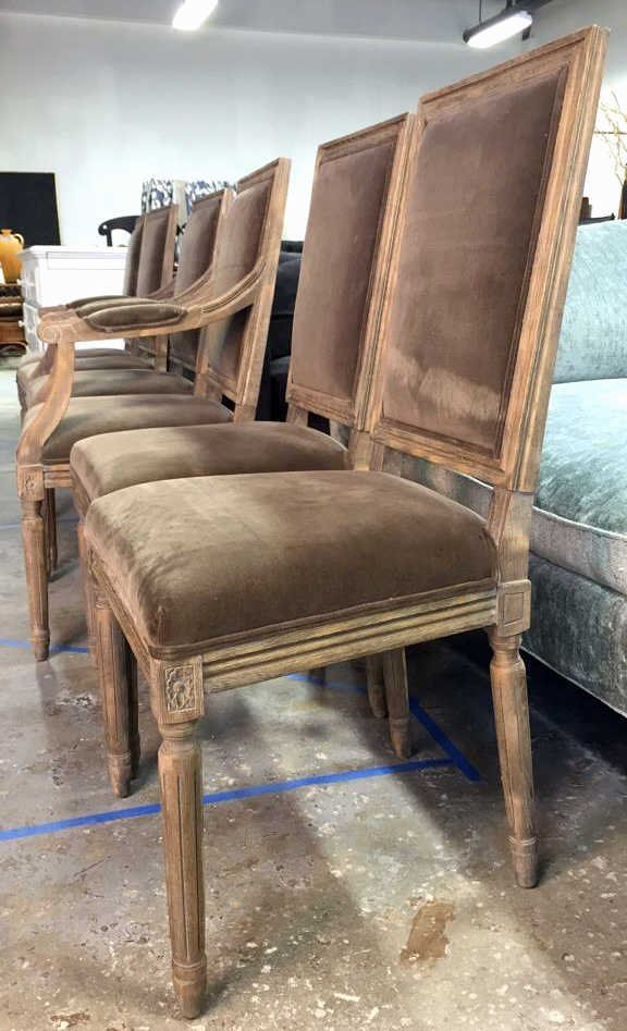 Set Of Six RESTORATION HARDWARE Dining Chairs - 3