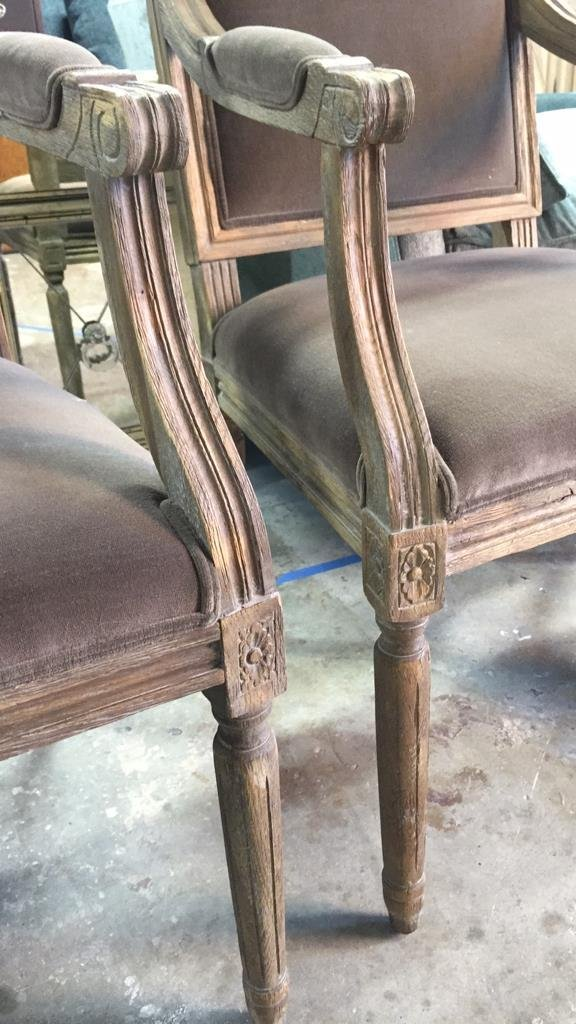 Set Of Six RESTORATION HARDWARE Dining Chairs - 5