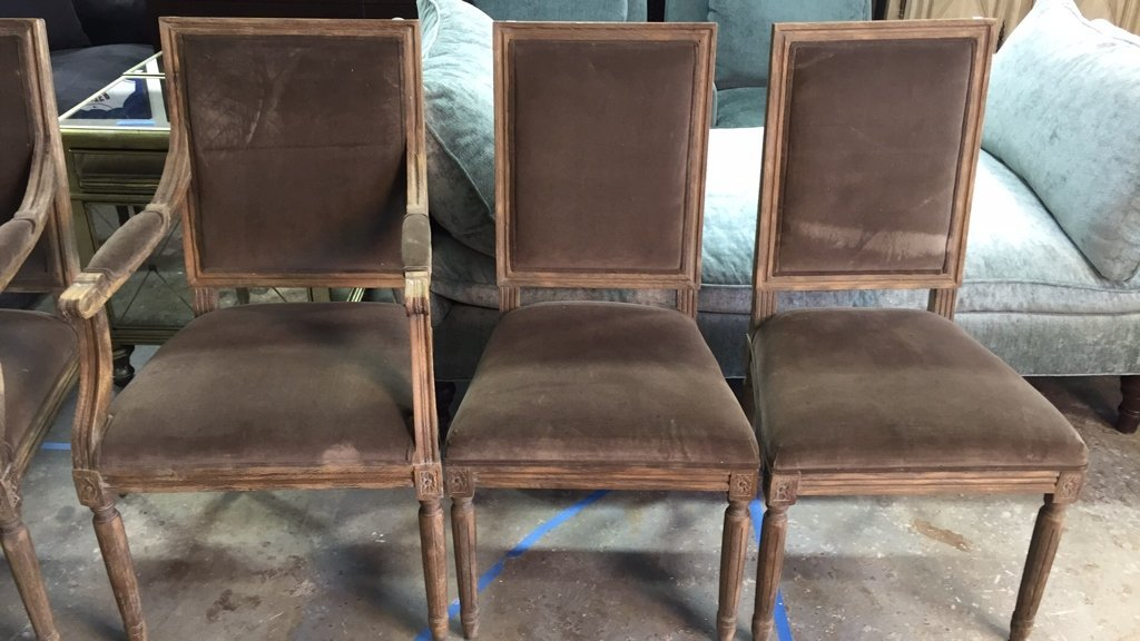 Set Of Six RESTORATION HARDWARE Dining Chairs - 7