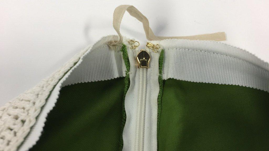 TORY BURCH size xs Crochet Overlay Skirt - 4