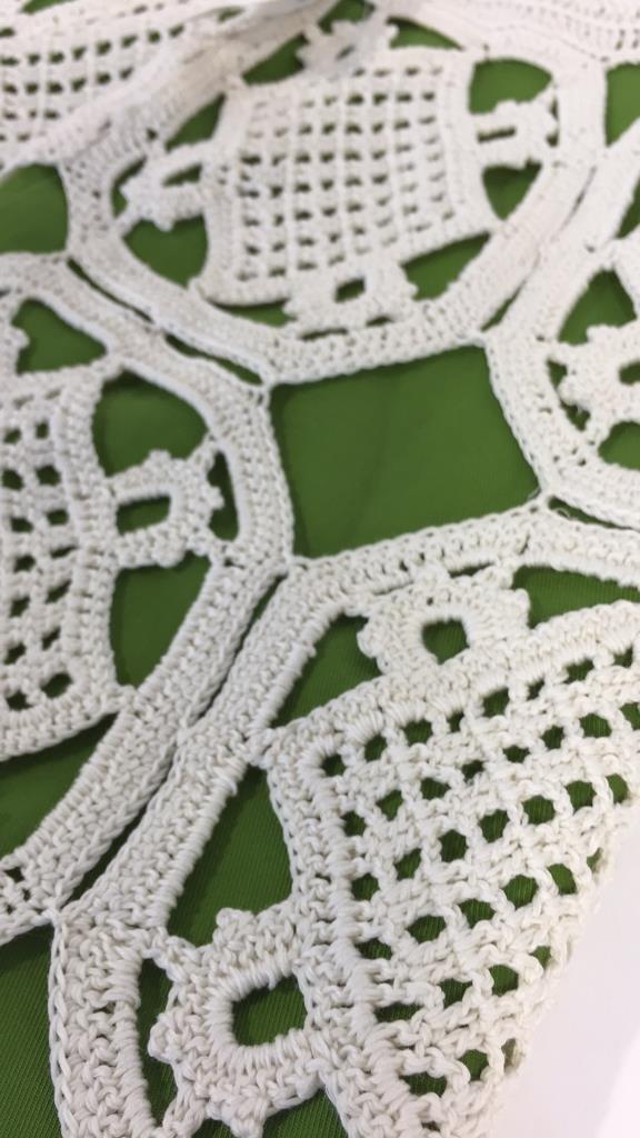TORY BURCH size xs Crochet Overlay Skirt - 5