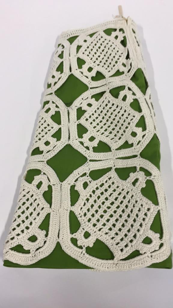 TORY BURCH size xs Crochet Overlay Skirt - 6
