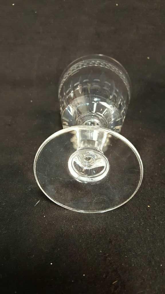 10 Piece Vintage Cut Glasses - 4