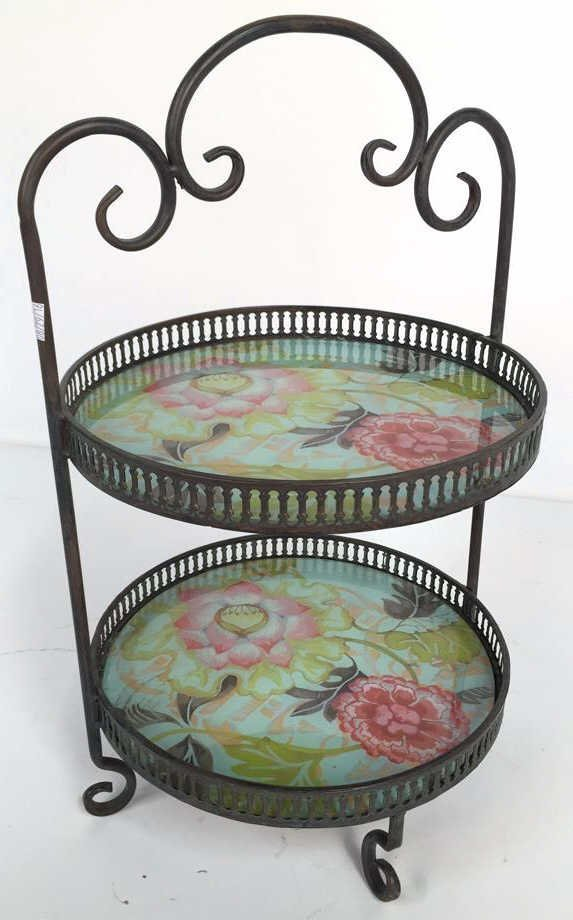 TRACY PORTER Two Tier Desert Tray