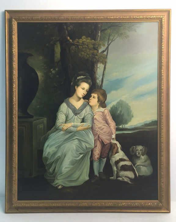 Anne Countess of Albermarle and Her Son
