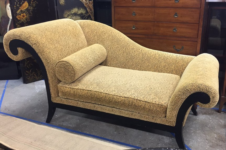 THAYER COGGIN Scrollback Chaise Lounge
