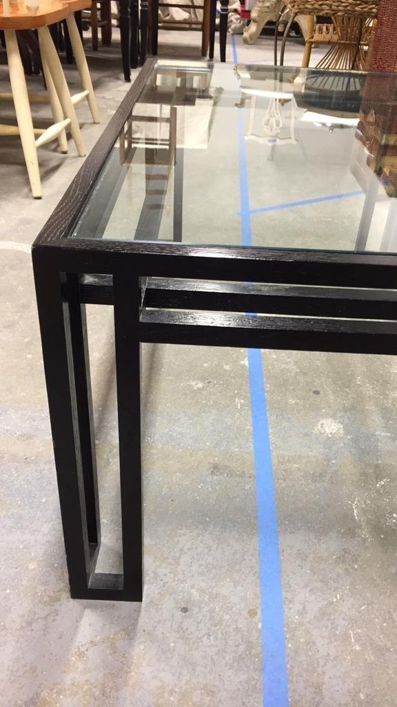 BILLY BALDWIN Glass Top Coffee Table - 3