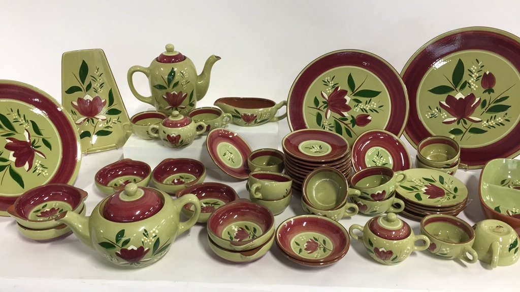 STANGL 40+ Pottery Pieces, Trenton, NJ, Magnolia