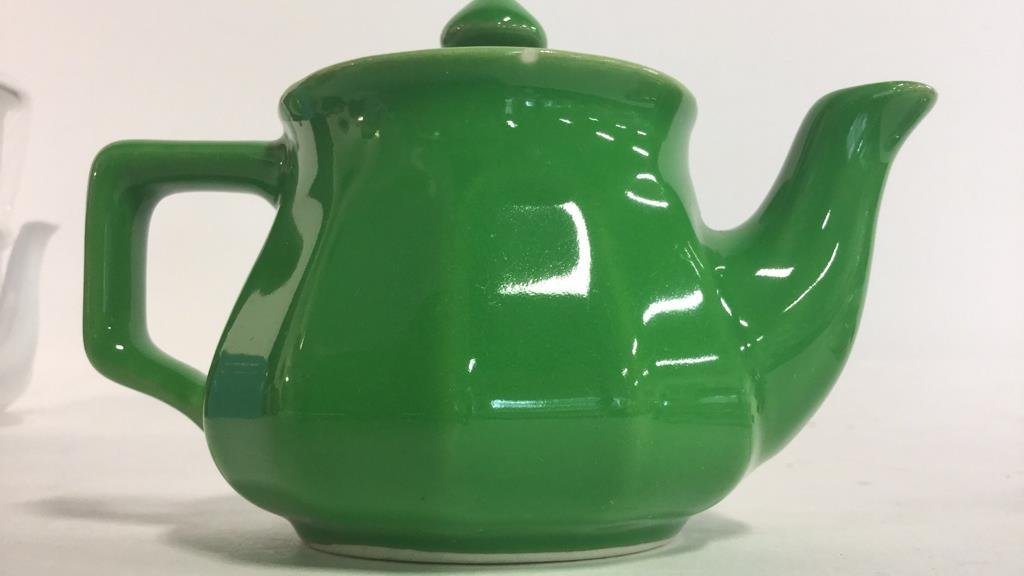 Group HALL trademarked tea pots and more - 2