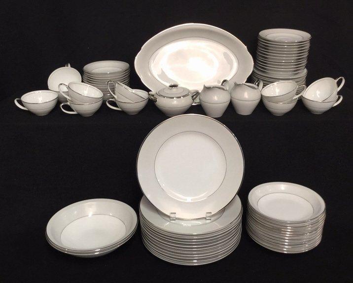 70+ Piece MEIO CHINA Hand Painted Dish Set