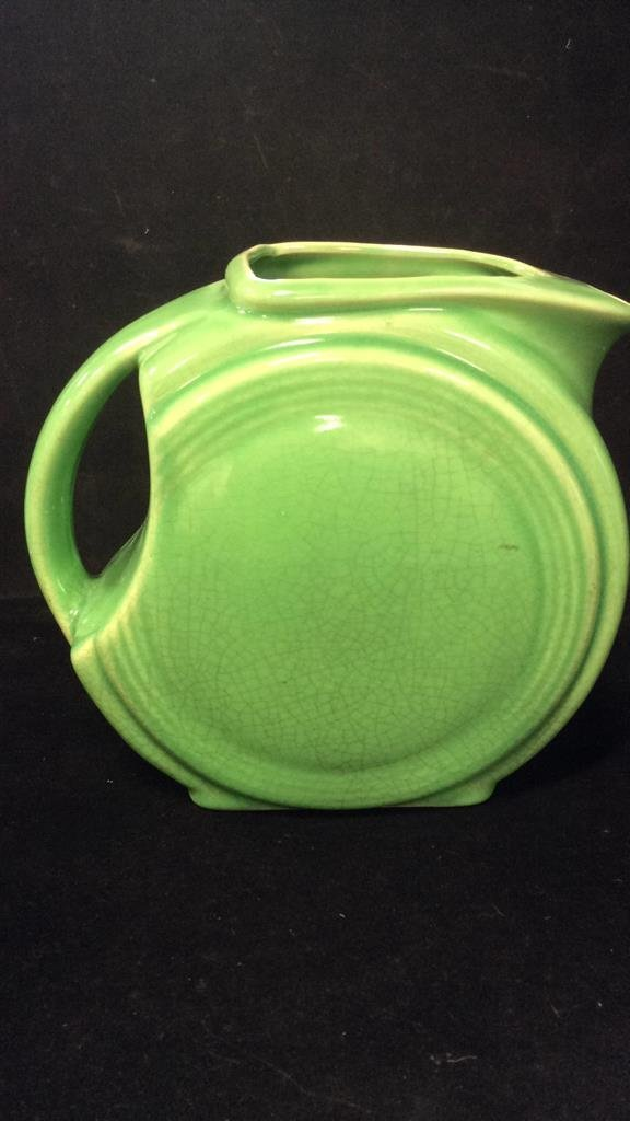 3 Vintage Green Pitchers - 2