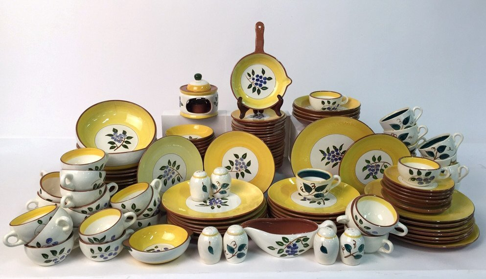 Group Lot 110+ Signed STANGL Pottery