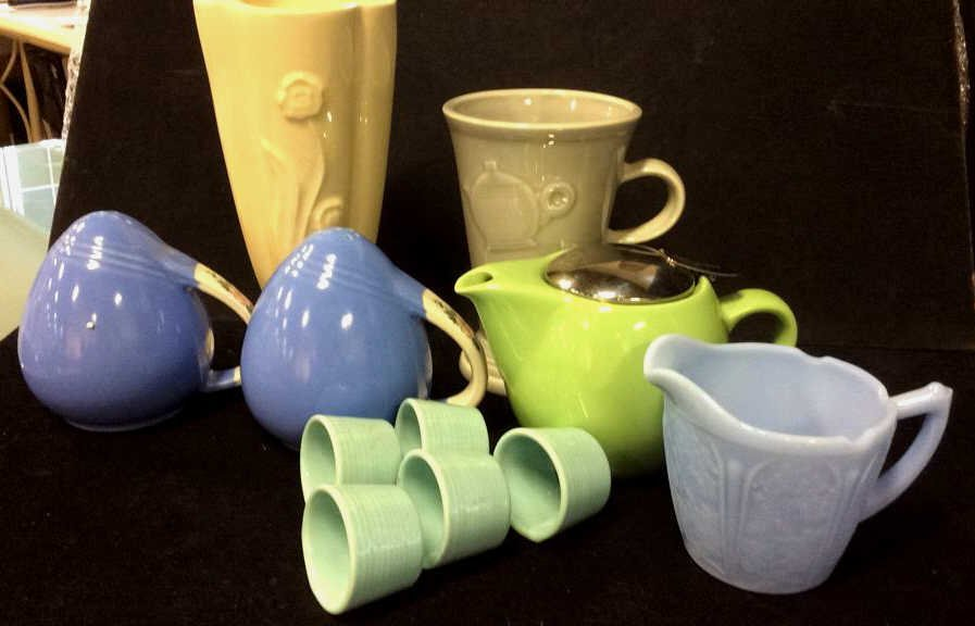 Vintage fiesta ware and more