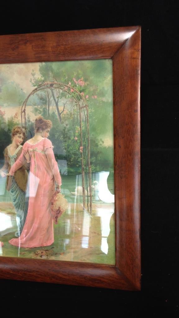 Vintage Wood Framed Poster - 5