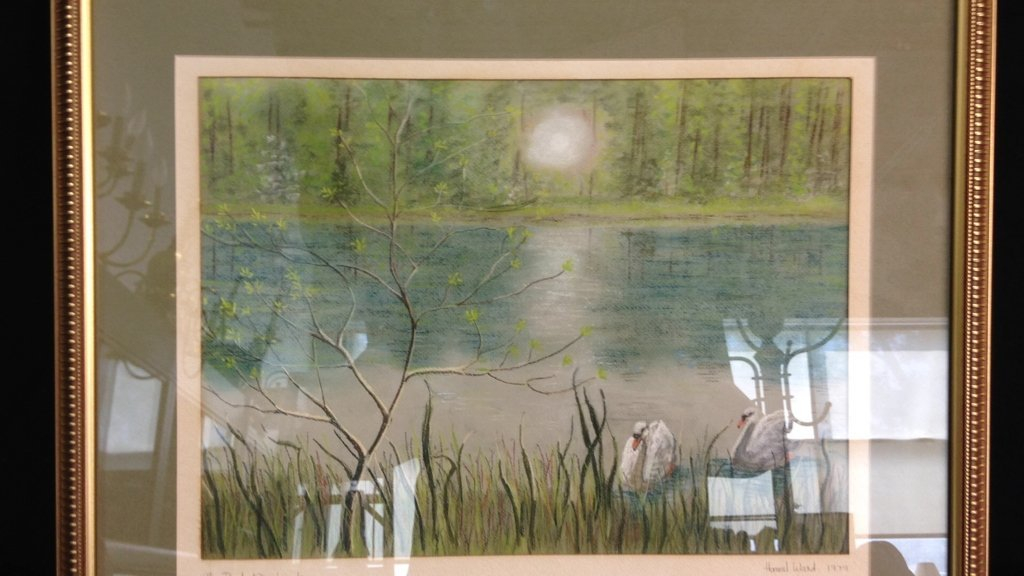 2 Professionally Framed & Matted Signed Art - 4