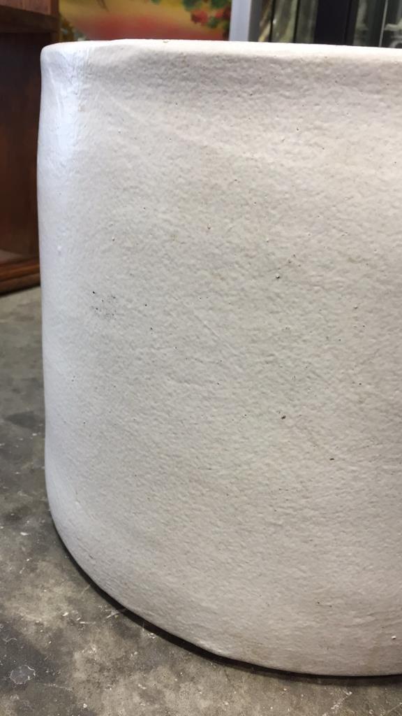 Set of Ceramic Cylinder Planters - 4