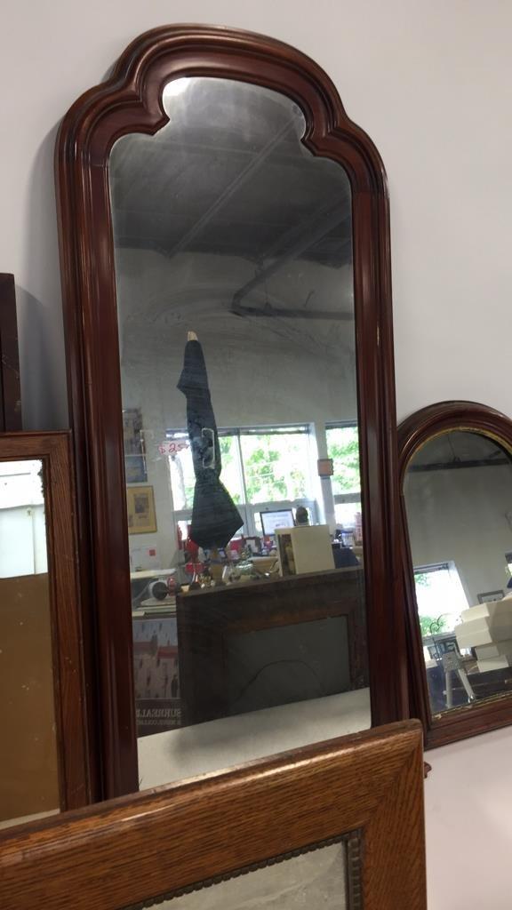 Group Lot 9 Vintage & Antique Mirrors - 2