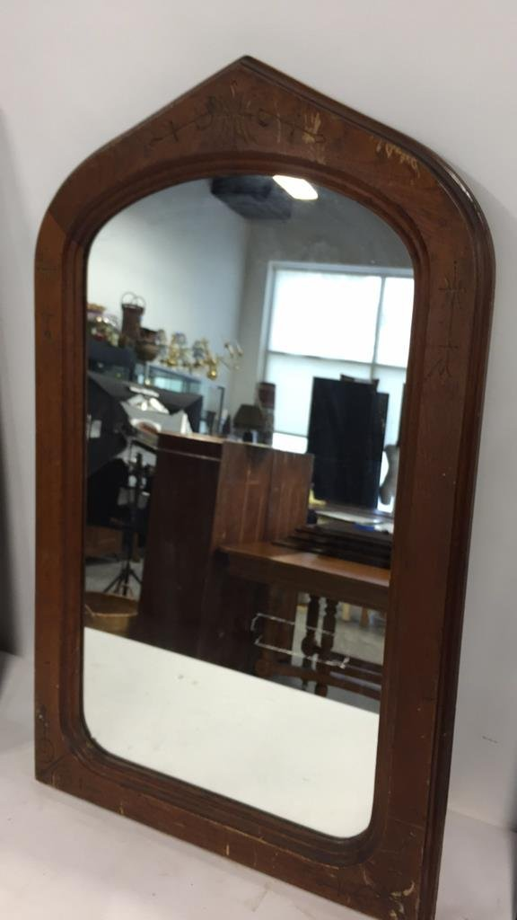 Group Lot 9 Vintage & Antique Mirrors - 8