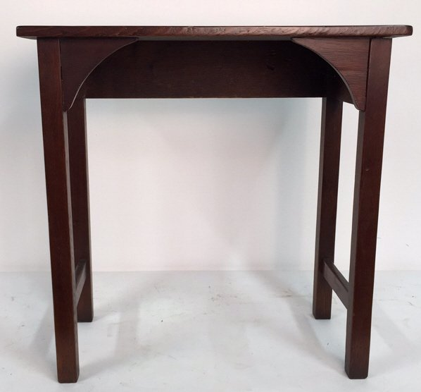 Amish Style Mahogany Console or Desk