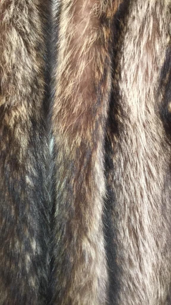 Vintage Raccoon Fur Jacket - 2