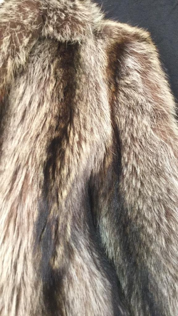 Vintage Raccoon Fur Jacket - 3