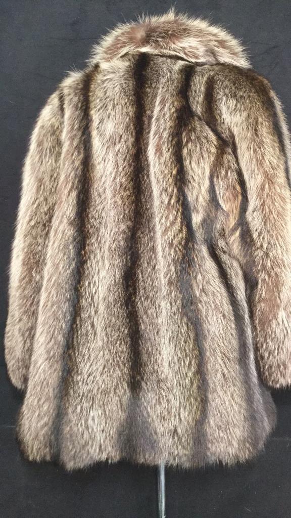 Vintage Raccoon Fur Jacket - 4