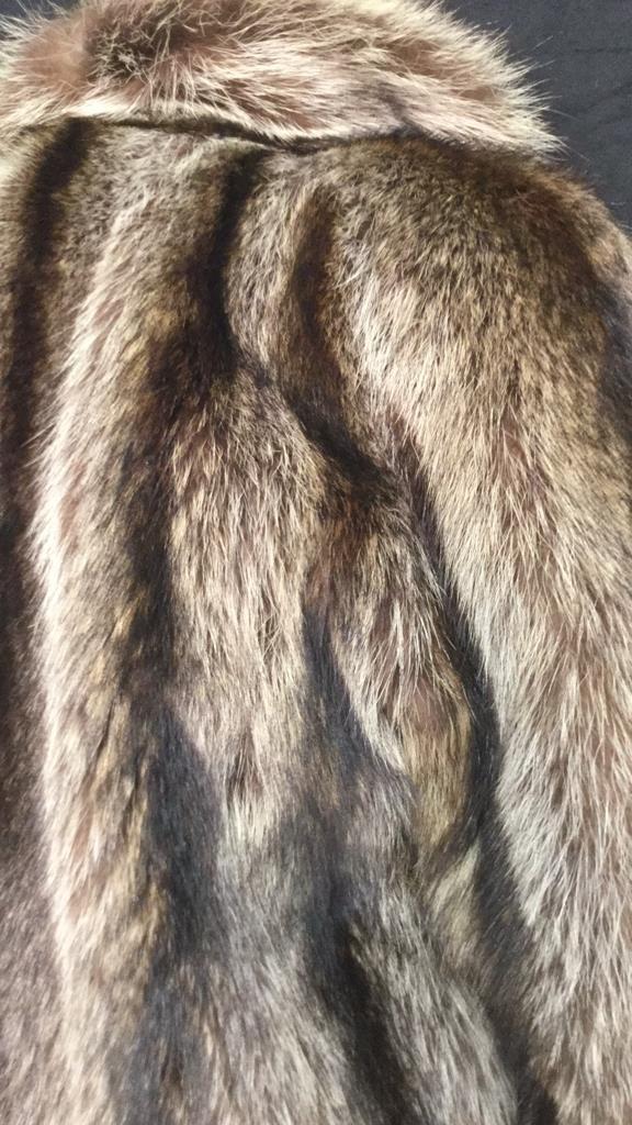 Vintage Raccoon Fur Jacket - 5