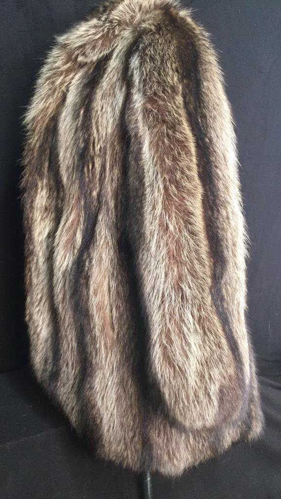 Vintage Raccoon Fur Jacket - 6