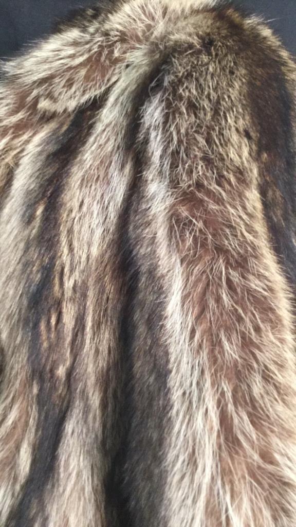 Vintage Raccoon Fur Jacket - 7