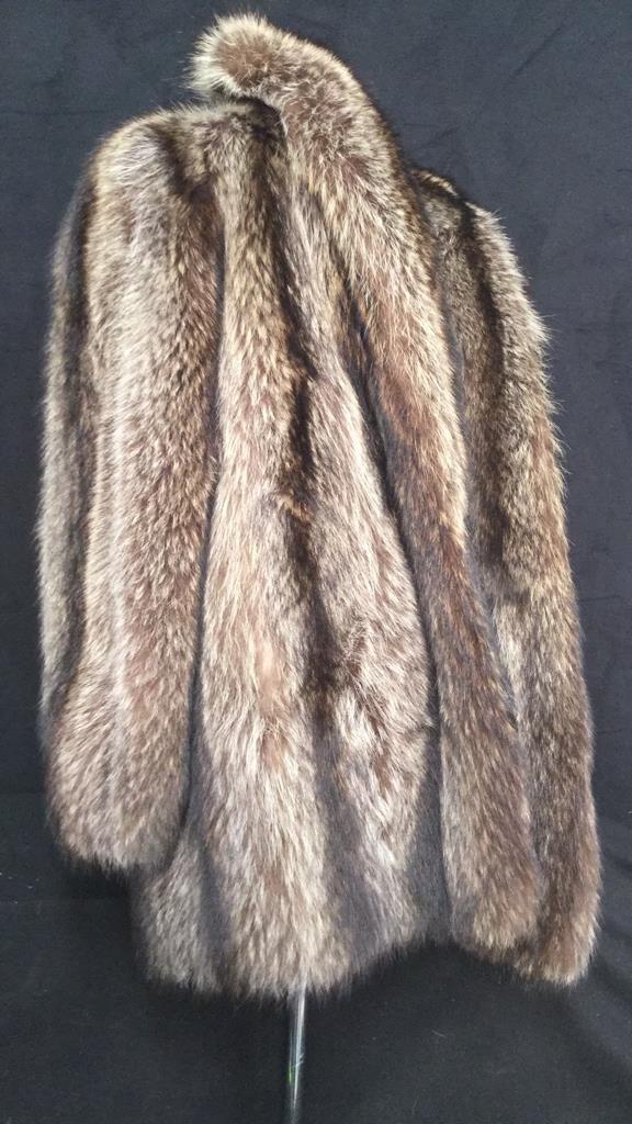 Vintage Raccoon Fur Jacket - 8