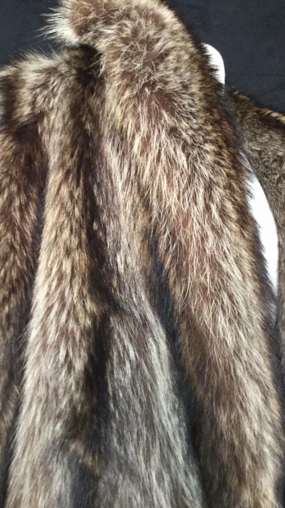 Vintage Raccoon Fur Jacket - 9