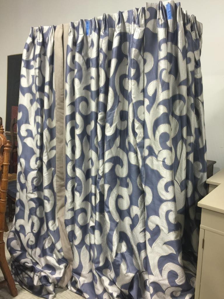 4 Panels Custom Window Treatments
