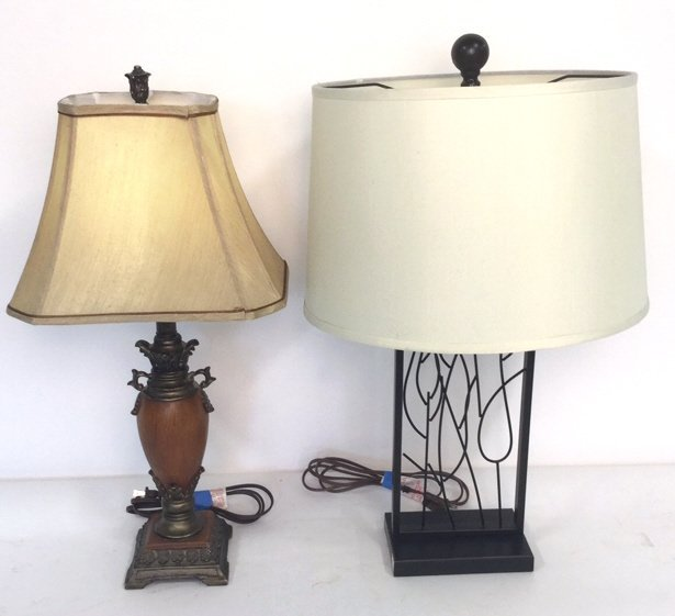 Group Lot 2 Lamps