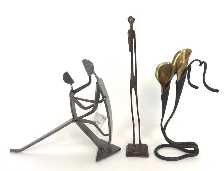 3 Metal Sculptures