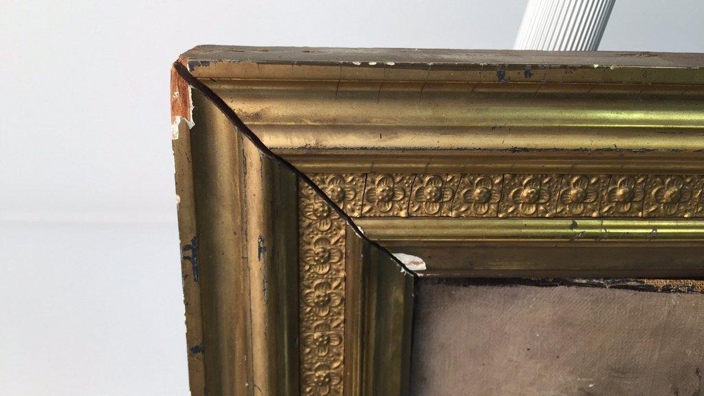 Antique Signed Illegibly Oil on Canvas Still Life - 4