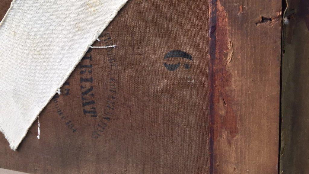 Antique Signed Illegibly Oil on Canvas Still Life - 6