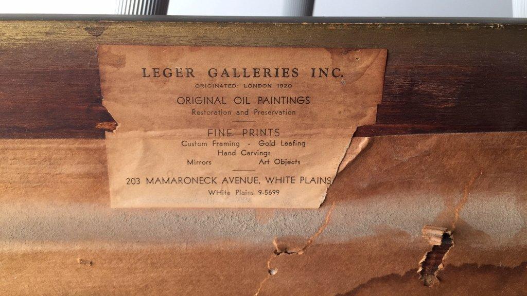 LEGER Galleries London Original Oil on Canvas - 8